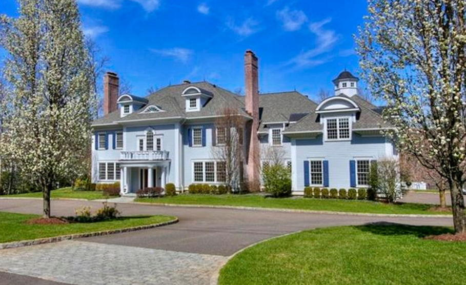 $4.6 Million Colonial Mansion In New Canaan, CT