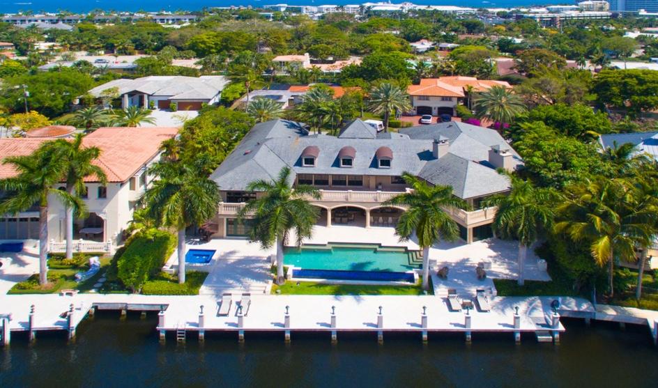 $8.9 Million Waterfront Mansion In Fort Lauderdale, FL