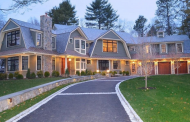 $7.295 Million Newly Built Shingle Home In Chestnut Hill, MA