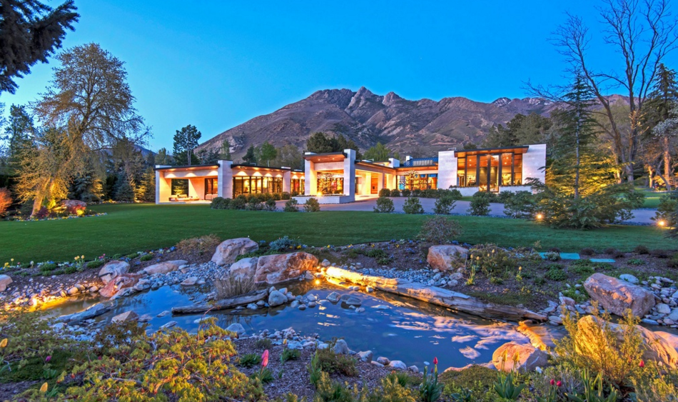 Incredible 18,000 Square Foot Contemporary Mansion In Salt Lake City, UT