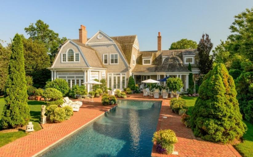 $21 Million Charming Shingle Home In Southampton, NY