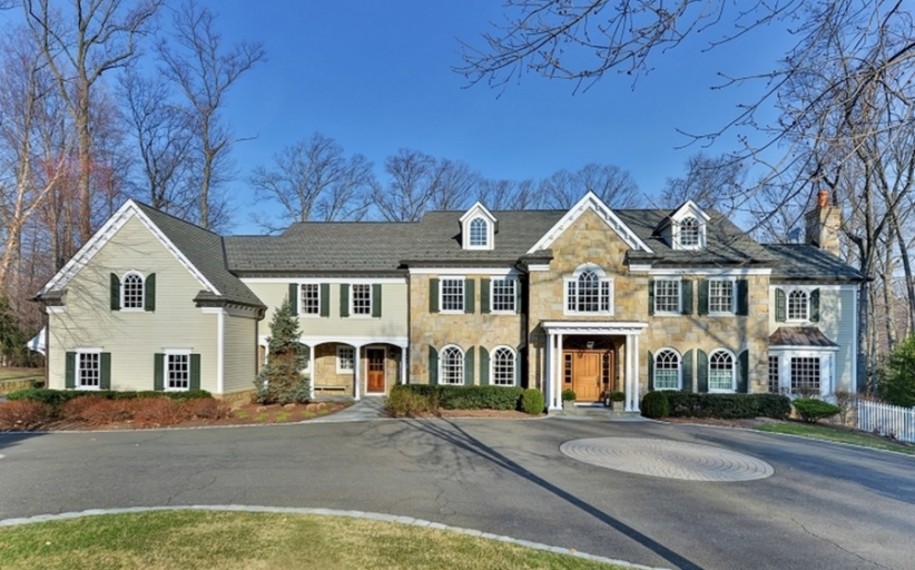 $2.895 Million Colonial Home In Franklin Lakes, NJ