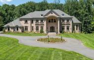 15,000 Square Foot Brick Mansion In Great Falls, VA