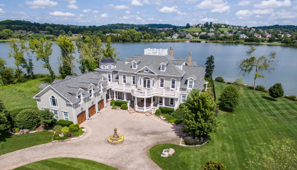 2 6 million waterfront mansion in knoxville tn homes for House builders in knoxville tn