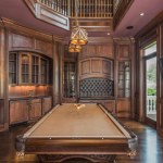 2-story Billiards Room/Home Office/Library