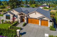 $3.5 Million Newly Built Stone & Stucco Home In Clyde Hill, WA