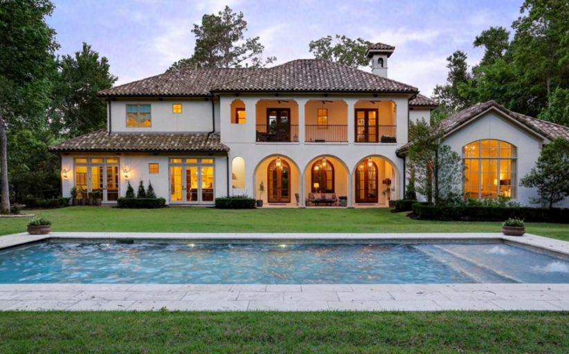 $2.3 Million Mediterranean Home In Spring, TX