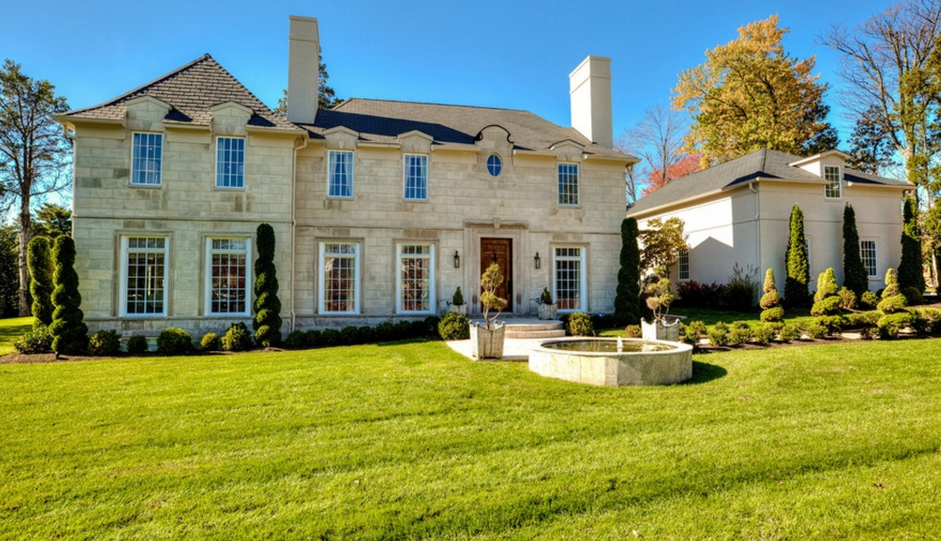 $3.995 Million French Country Inspired Mansion In Alexandria, VA