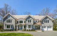$3.45 Million Colonial Shingle Home In Darien, CT