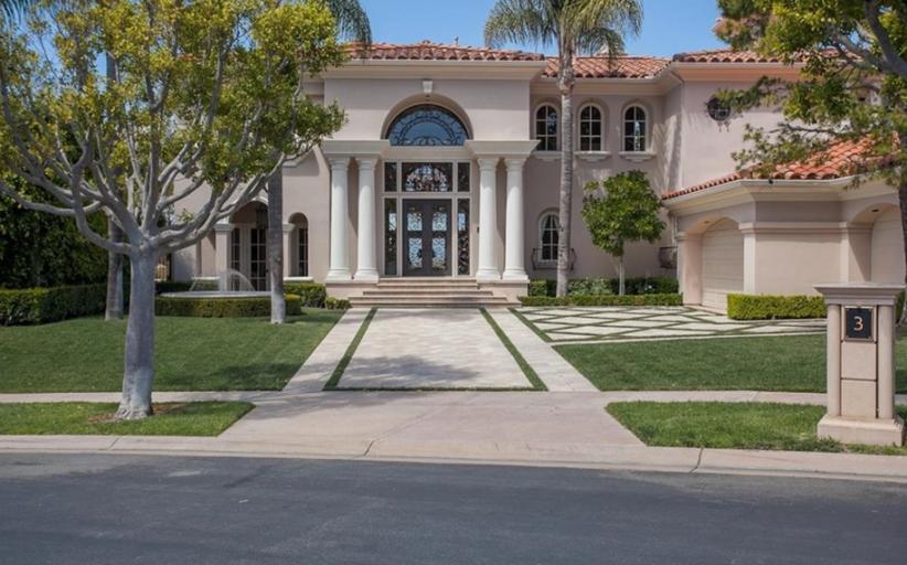 $5.85 Million European Inspired Home In Newport Coast, CA