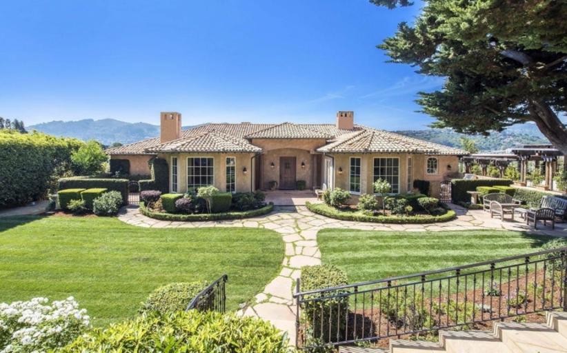 $5.6 Million Mediterranean Waterfront Home In Mill Valley, CA