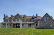 $2.3 Million Stone & Shingle Mansion In Colts Neck, NJ