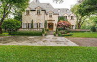 $5.75 Million Brick Mansion In Dallas, TX