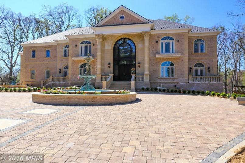 $6.9 Million Newly Built Brick Mansion In Great Falls, VA