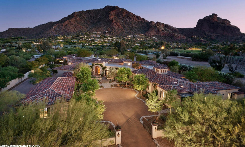 14,000 Square Foot Estate In Paradise Valley, AZ