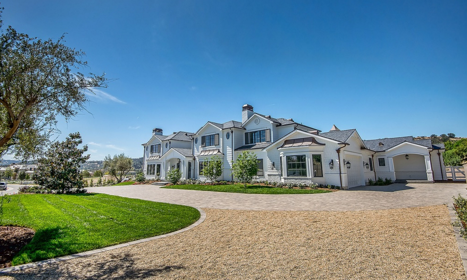 15,000 Square Foot Newly Built Traditional Mansion In Hidden