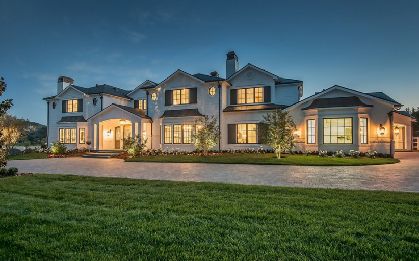 15,000 Square Foot Newly Built Traditional Mansion In Hidden Hills, CA