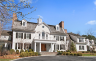 12,000 Square Foot Colonial Mansion In Armonk, NY