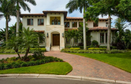 10,000 Square Foot Mediterranean Waterfront Mansion In Tampa, FL