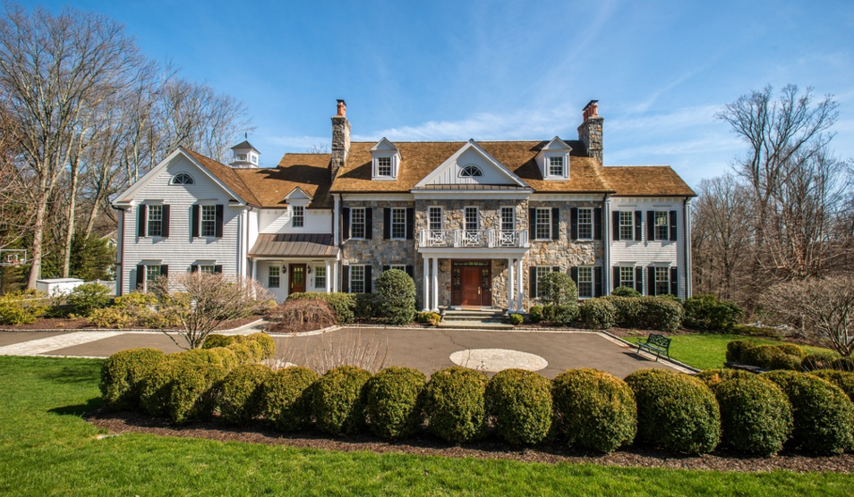 Georgian Colonial Mansion $4.195 million georgian colonial mansion in new canaan, ct | homes