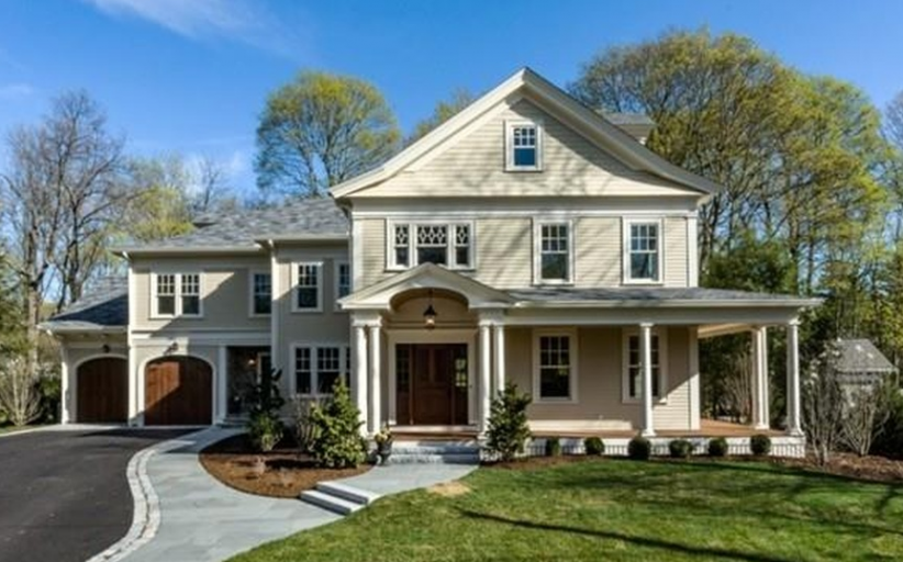 $3.65 Million Newly Built Colonial Mansion In Lexington, MA