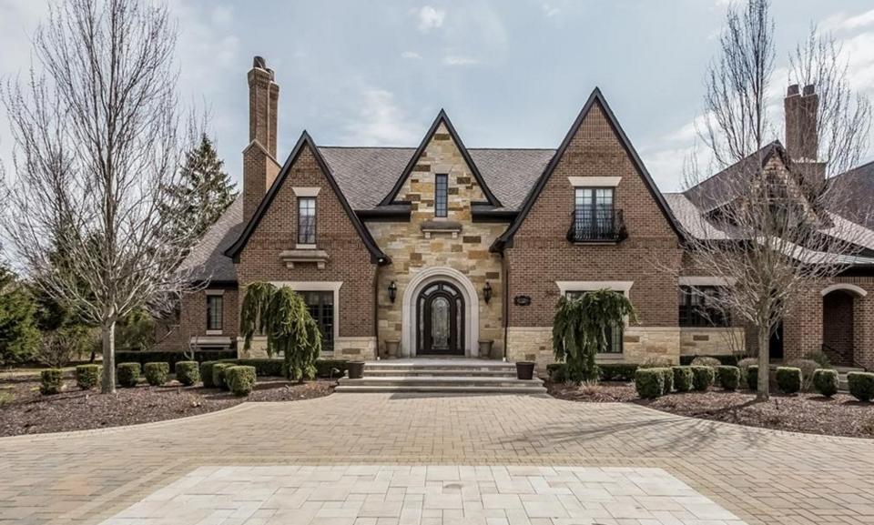 10 000 square foot brick stone mansion in bloomfield - House of bedrooms bloomfield hills mi ...