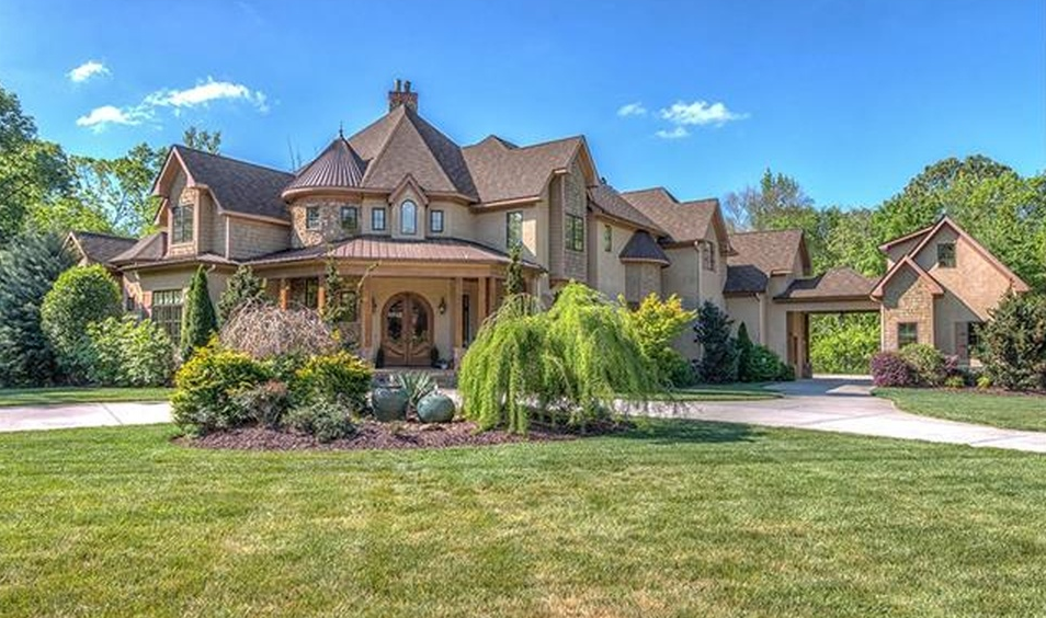 10,000 Square Foot European Inspired Mansion In Waxhaw, NC