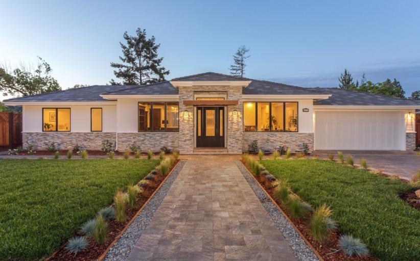 $7.388 Million Newly Built Ranch Home In Los Altos, CA