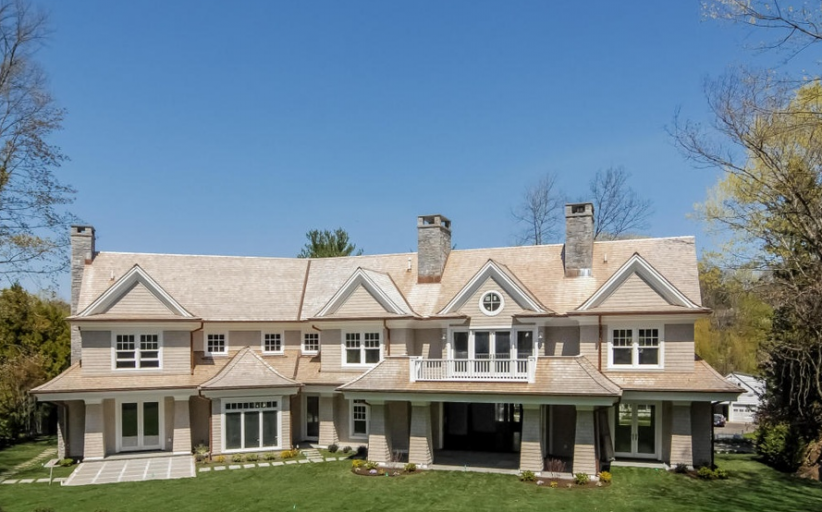 $6.25 Million Newly Built Shingle Mansion In Greenwich, CT