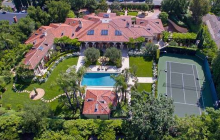 12,000 Square Foot Tuscan Inspired Mansion In Encino, CA