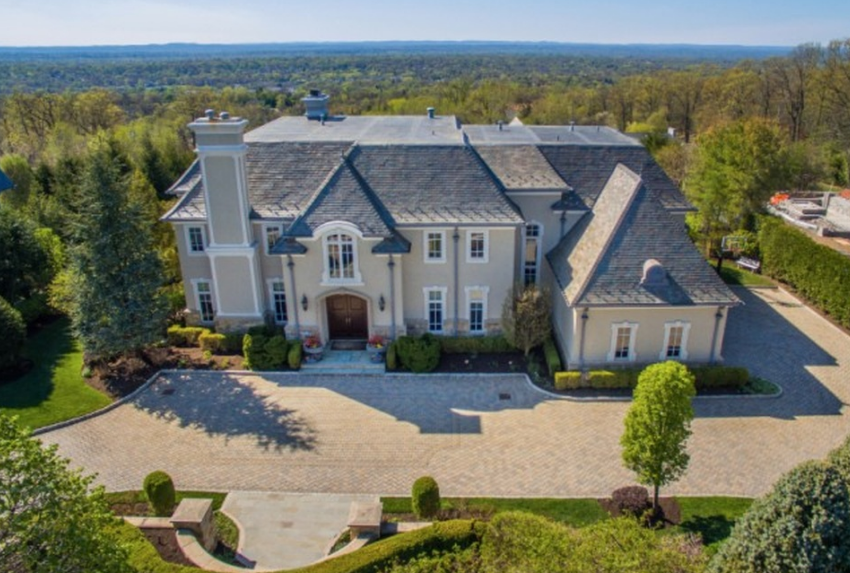 $5.7 Million French Inspired Mansion In Cresskill, NJ