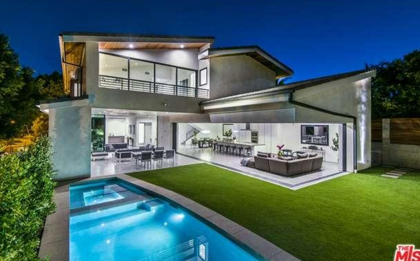 $4.5 Million Newly Built Contemporary Home In Los Angeles, CA