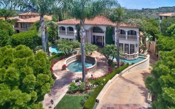 $7.3 Million Mediterranean Mansion In Newport Coast, CA