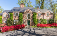 $3.45 Million Charming Brick Home In Washington, DC