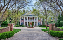 $3.6 Million Georgian Brick Mansion In Asheville, NC