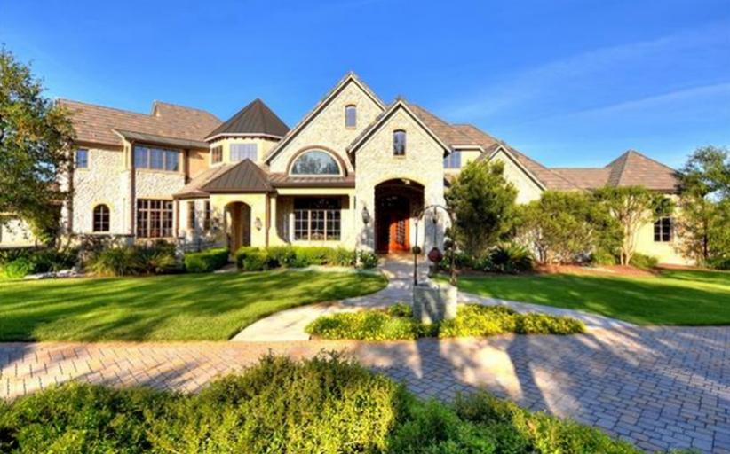 $4.5 Million Brick Mansion In Austin, TX