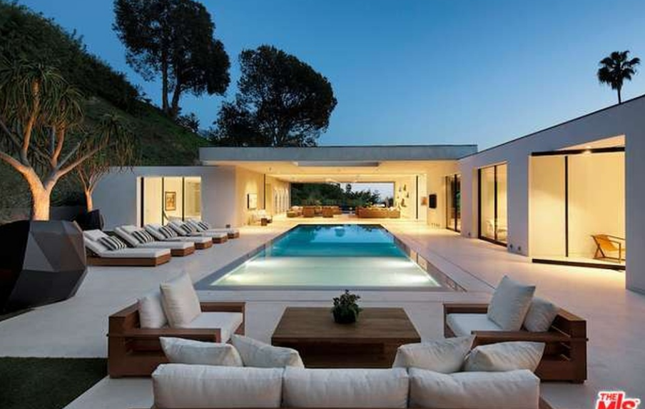$24.9 Million Newly Built Modern Home In Beverly Hills, CA