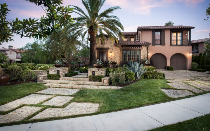 $4.35 Million Stone & Stucco Home In Newport Coast, CA