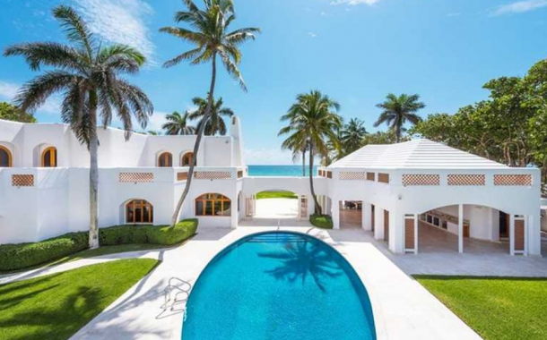 $42.5 Million Beachfront Estate In Golden Beach, FL