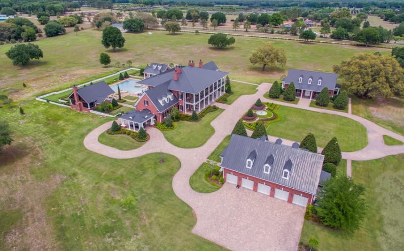 $10 Million 50 Acre Estate In Umatilla, FL