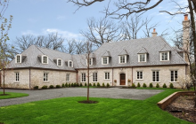 $3.75 Million Newly Built Stone Home In Lake Forest, IL