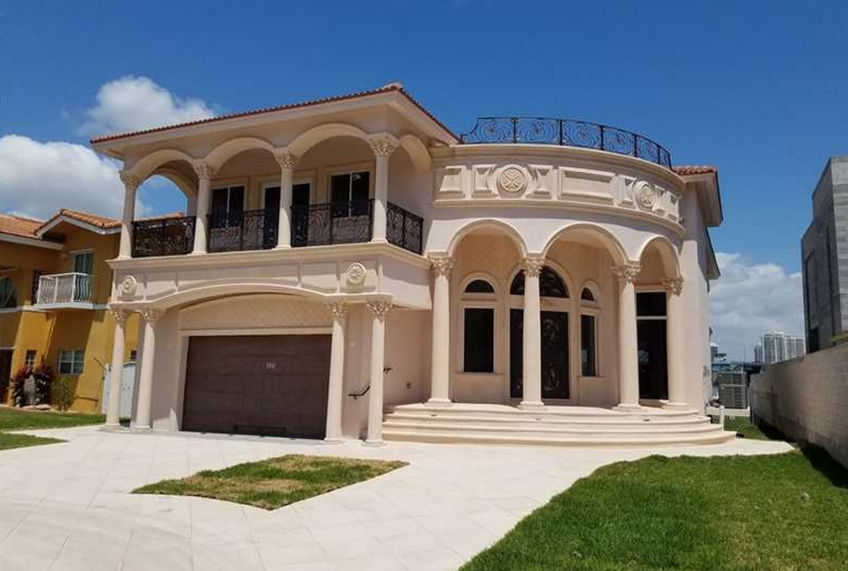 $4.45 Million Newly Built Waterfront Home In Sunny Isles Beach, FL