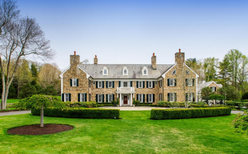 $5.5 Million Colonial Mansion In New Canaan, CT