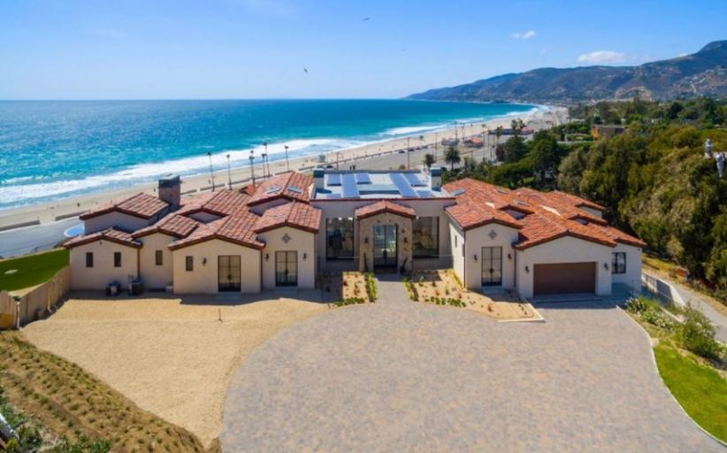 Villa Sogno – A $29 Million Newly Built Mansion In Malibu, CA