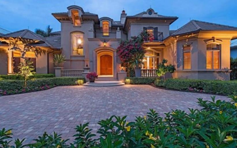 $5.895 Million Mediterranean Home In Naples, FL