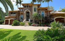 $4.995 Million Mediterranean Waterfront Home In Sarasota, FL