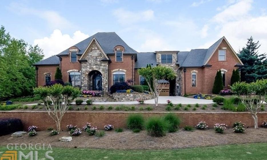 $1.695 Million Brick Mansion In Braselton, GA
