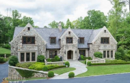 $3.3 Million Stone Home In Atlanta, GA