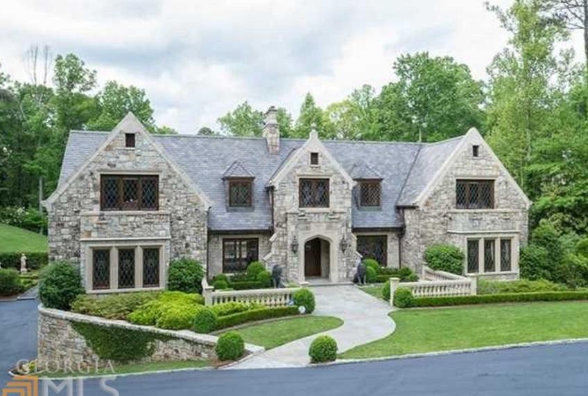 $3.3 Million Stone Home In Atlanta, GA
