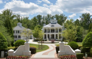 10,000 Square Foot Riverfront Mansion In Alpharetta, GA